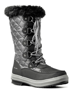 Botas Apreski Nieve Abrigo Mujer Alaska Zafiro Imperm P°