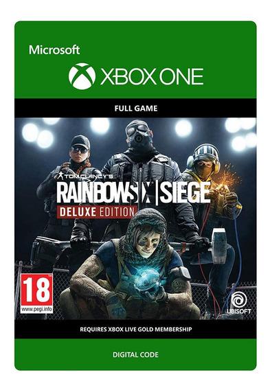 Rainbow Six Siege Deluxe Edition Xbox One Código 25 Dígitos