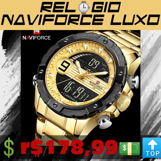 Relógio Original Naviforce Frete Grátis +brinde E Garantia