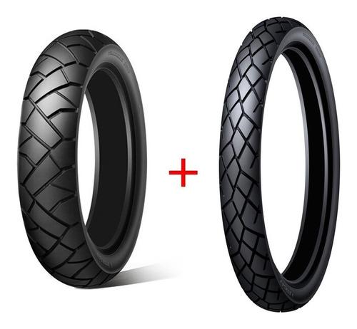 Kit Cubiertas 150 70 18 + 90 90 21 Dunlop D610 Japon Avant