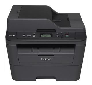 Impresora multifunción Brother DCP-L2 Series DCP-L2540DW con wifi 110V negra