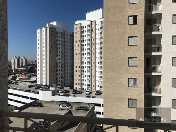 Apartamento Com 2 Dormitórios Para Alugar, 52 M² Por R$ 1.550,00/mês - Tatuapé - São Paulo/sp - Ap2302