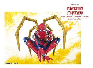 Figura Iron Spiderman Avengers Marvel 14cm Super Heroes