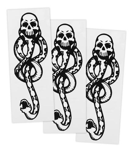 Punpunia - Set 3 Tatuajes Temporales Harry Potter Marca