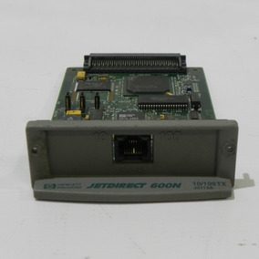 Hp Jetdirect 600 N J3113 Servidor De Impressão *usado