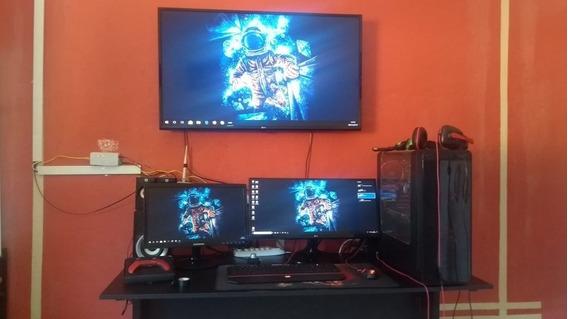Computador Gamer I5 7400 + 12gb +ssd 120 + Asus 1060 Strix