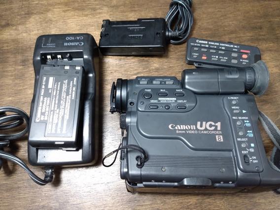 Camera Filmadora Vídeo 8 Canon, No Estado (c60)