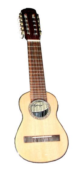 Charango Sojing Pt105eq Microfono Y Eq Madera