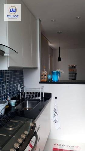 Imagem 1 de 17 de Apartamento Com 2 Dormitórios À Venda, 46 M² Por R$ 160.000,00 - Bongue - Piracicaba/sp - Ap0530