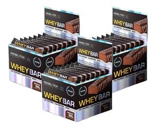 Combo 3x Caixas Whey Bar Caixa 24 Barras - Probiótica