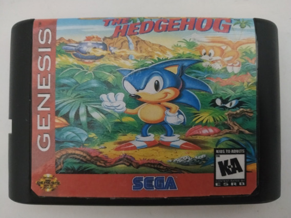 Sonic The Hedgehog 3 Mega Drive Salvando