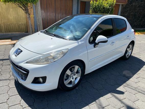 Peugeot 207 2012 Feline Clima Electrico Piel Tp Bolsas Rines