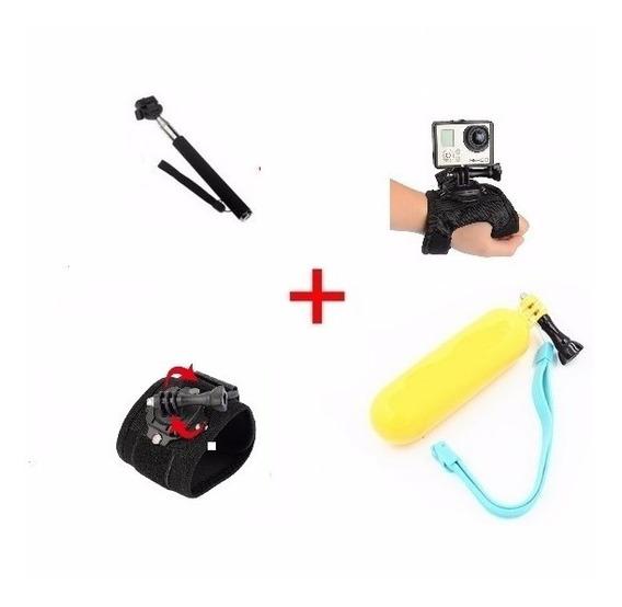 Gopro Kit Acessórios Câmera Hero Plus 4 5 6 7 Session