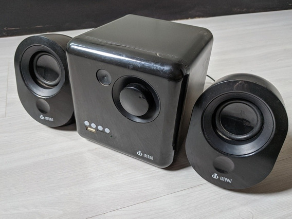 Caixa Multimídia 2.1 16w Rms Com Bluetooth Vc-g400bt Preta I