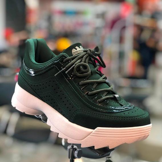 Tênis Dakota Sneaker Verde Militar G0988 Nova Coleção - Att