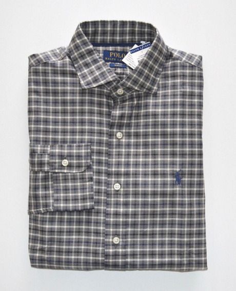 Camisa Social Polo Ralph Lauren Tamanho M Slim Fit + Justa