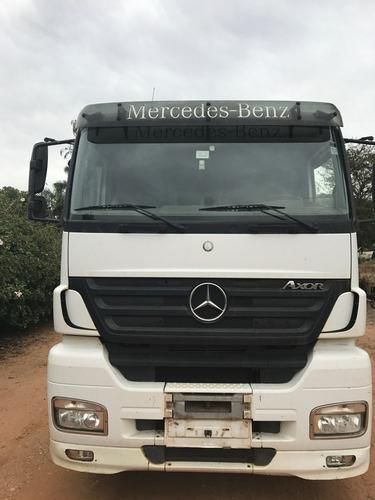 Imagem 1 de 12 de Mercedes-benz Axor 2644 S Engatado Conjunto Rodotrem Granele
