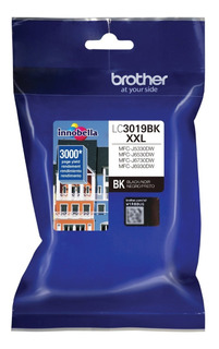 Cartucho Brother Lc3019bk Xxl Negro Original J6370 5330