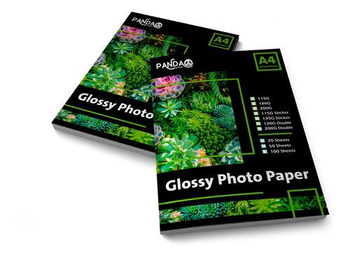 Papel Fotográfico Premium 200gr Glossy Waterproof 1000h