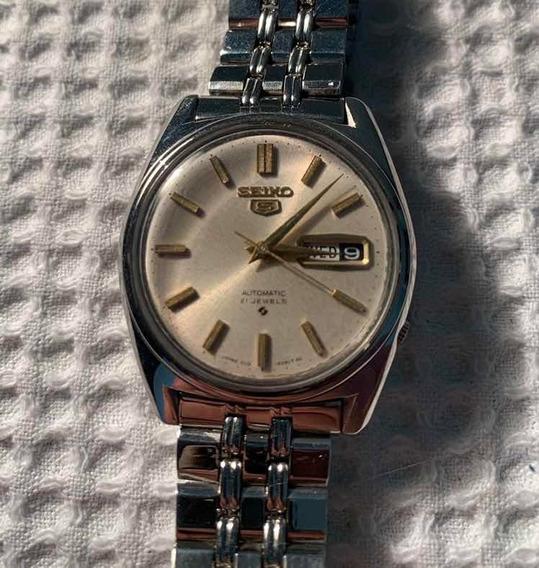 Relógio Seiko 6119 Branco