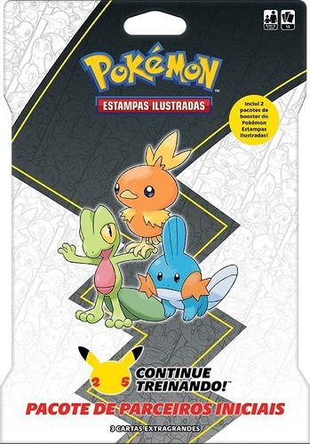 Imagem 1 de 3 de Card Game Pokémon Booster Blister Gigante Parceiros De Hoenn