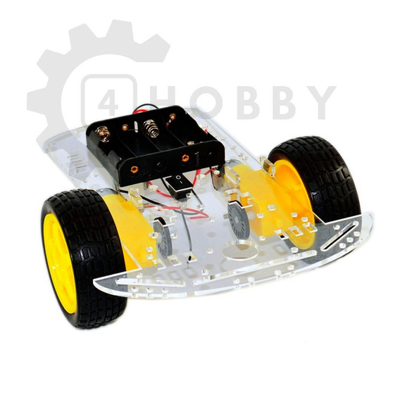 Kit Chassi 2wd Rodas Carro Smart Car Robô Arduino *239901