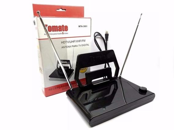 Antena Hdtv Tomate Mta -3001 Analogico E Digital + Nf 1 Gr