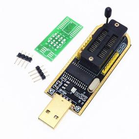 Programador Gravador Eprom Usb Ch341a Flash Spi Bios Ch341