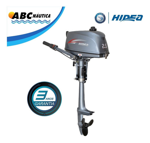 Motor De Popa 2.5hp Hidea