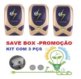 Oferta 3 Aparelho De Economizar Energia 110v 220v Saver Box