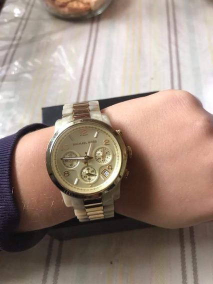 Relógio Michael Kors Mk5139 Feminino Madrepérola Original