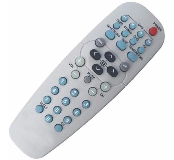 Controle Remoto Universal Philips Tv Tubo + Capa Protetora