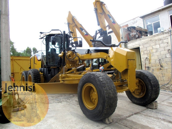 Niveladora Cat 160m 2008 Y 140h 2002, Ripper, Recien Import
