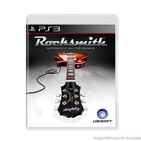 Rocksmith - Ps3 - Mídia Física