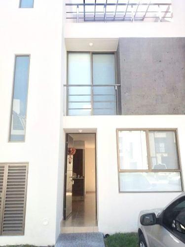 Casa En Condominio En Renta En Residencial Del Parque