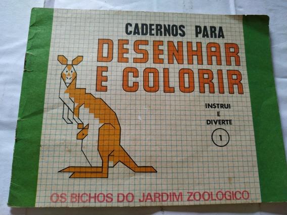 Cadernos Para Desenhar E Colorir 1 , Disbra - Frete Grátis