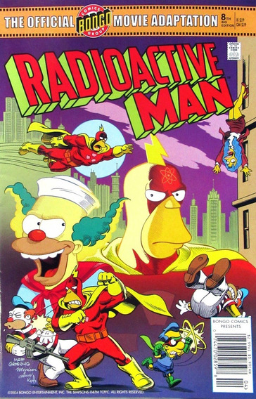 Hq Simpsons Radioactive Man Movie Adaptation 1 Importada