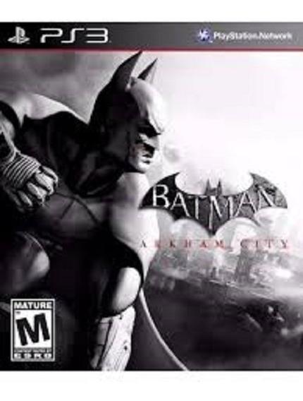 Jogo Batman Arkham City Ps3 Midia Fisica