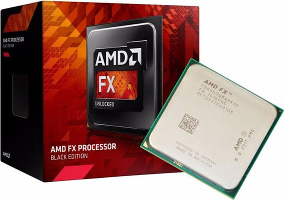 Processador Amd Fx-8300 Vishera Black Edition Am3+ 3.3ghz