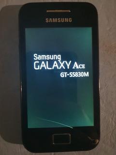 Celular Samsung Gt-s5830m 2011 Con Detalles (leer Bien)