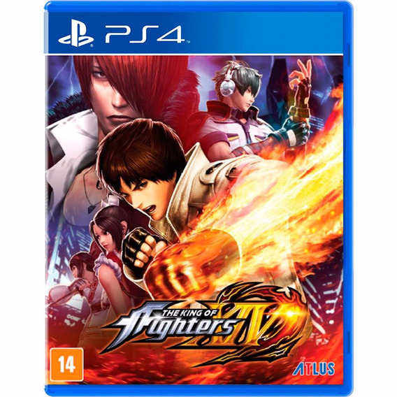 The King Of Fighters Xiv (mídia Física) - Ps4 (novo)