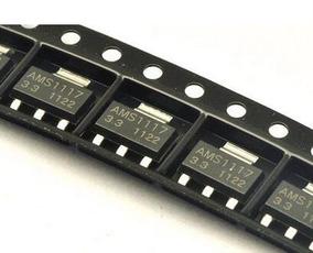 50 Pçs Regulador De Voltagem Ams1117 3,3v