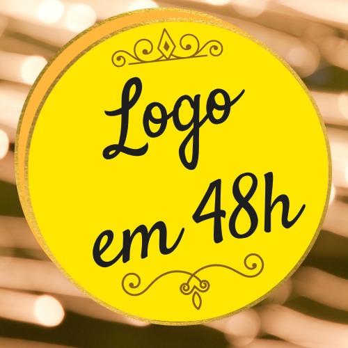 48h Logo Profissional + Marca D'água Criar Fazer Logotipo