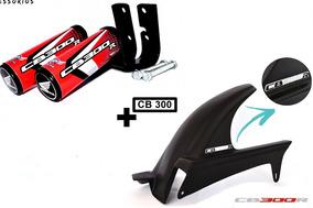Para Lama Porta Corrente Cb 300 + Slider Protetor Cb300