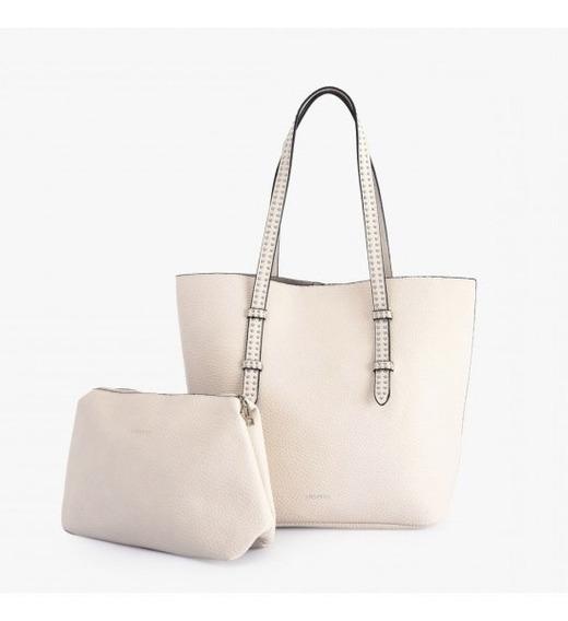 Cartera Dos Asas Shopping Isa Blanco Especial