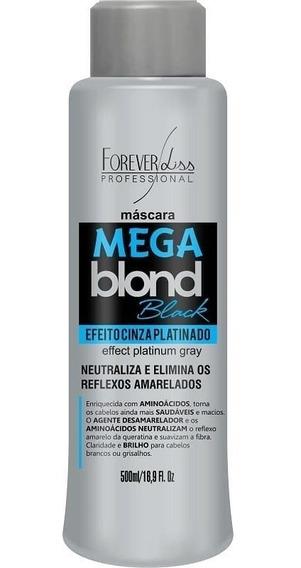 Matizador Mega Blond Black - Forever Liss 500gr - Obeleza