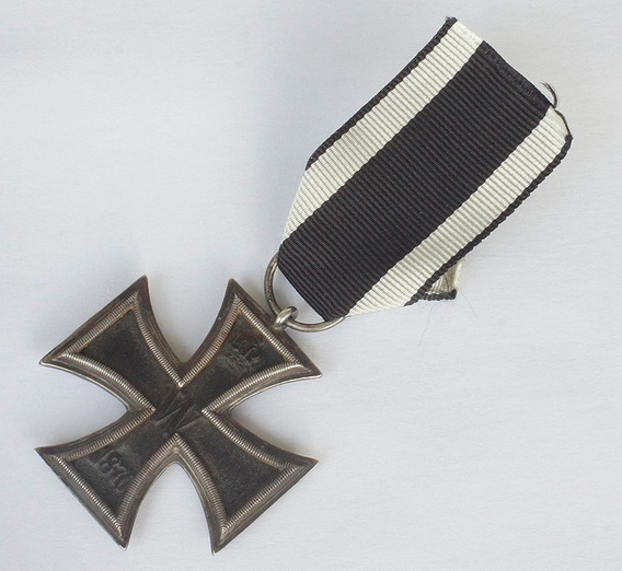 Cruz De Ferro De 2º Classe 1870.