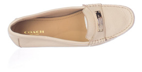 Zapatos Coach Beige Para Dama 27 Cm