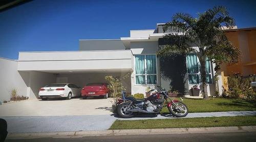 Casa Com 3 Dormitórios À Venda, 218 M² Por R$ 1.450.000,00 - Condomínio Amstalden Residence - Indaiatuba/sp - Ca0756