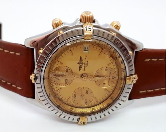Bretling Cronomat 40mm - Automático - Aço E Ouro Ref B13048